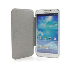 Uunique Croc Leather Folio Case for Samsung Galaxy S4 - Black