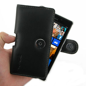 PDair Leather Horizontal Case - Lumia 925