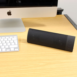 KitSound BoomBar Portable Rechargeable Bluetooth Speaker - Black