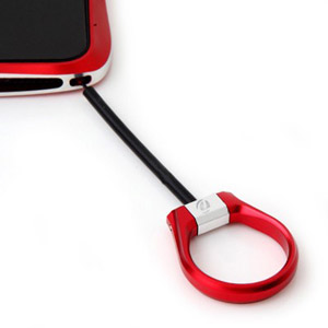 Draco Design Aluminium Smart Strap - Flare Red