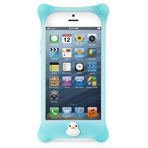 Bone Bubble Case For Apple iPhone 5 - Aqua