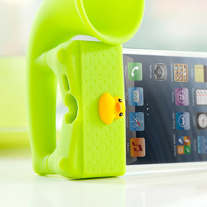 Bone Collection Horn Amplifier Stand for iPhone 5 - Green