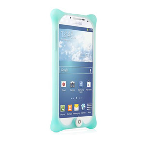Bone Bubble Case For Samsung Galaxy S4 - Aqua
