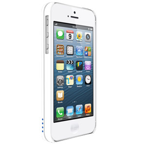 IKit NuCharge Battery Pack & Case for IPhone 5 - White