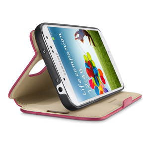 Belkin Slim Wallet Folio with Stand for Samsung Galaxy Mega 5.8 - Blacktop