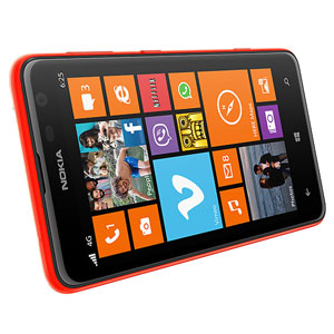 Nokia Shell Lumia 625 - Orange - CC-3071