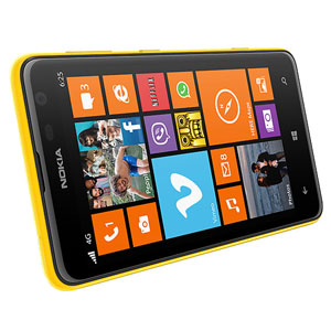 Nokia Shell Lumia 625 - Yellow - CC-3071