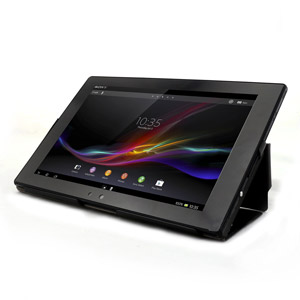 Muvit iFlip and Stand Case for Sony Xperia Tablet Z - Black