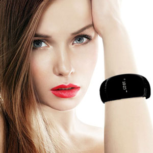 MyKronoz ZeBracelet BlueTooth Smartwatch - Black