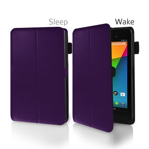 SD Tabletwear Frameless Case for Google Nexus 7 2 - Purple