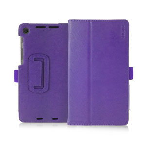 Sonivo Leather Style Case for Google Nexus 7 2 - Purple
