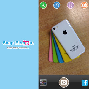 Snap Remote Camera Shutter and Stand for iPhone