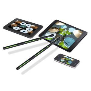 DRUMMERZ Drumsticks for Tablets and Smartphones