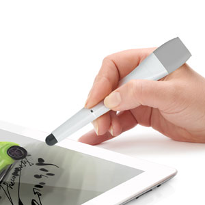 Xoopar 3 in 1 Cable Pen S - Stylus and Cable - Grey