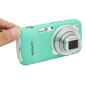 Capdase Karapace Jacket for Samsung Galaxy S4 Zoom - Mint Green