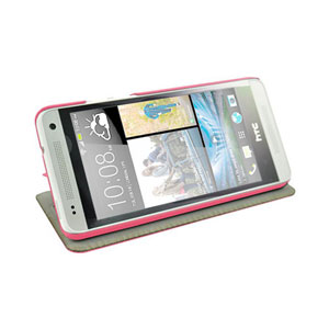 Metal-Slim UV Protective Case for HTC One Mini - Black