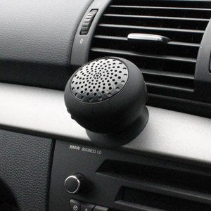 Gum Rock Bluetooth Portable Suction Speaker Stand - Blue