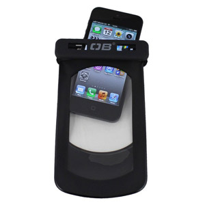 Overboard Waterproof Case for iPhone 5 / 4S / 4 - Black