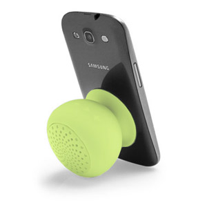 Gum Rock Bluetooth Portable Suction Speaker Stand - Green