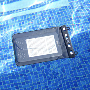 Overboard Waterproof eBook Reader / Kindle Case - Black