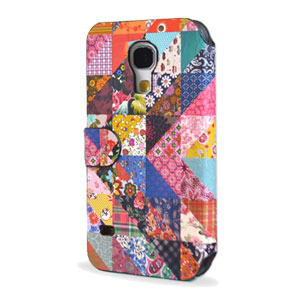 Create And Case Samsung Galaxy S4 Flip Case - Grandma Quilt