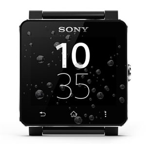 Sony SmartWatch Android Watch - Black Metal