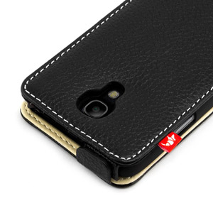 Proporta Leather Case with Aluminium Lining for Samsung Galaxy S4 Mini