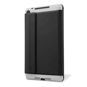 Leather Style Case Stand for Google Nexus 7 2 - Black
