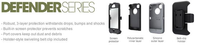 OtterBox Defender Series for Samsung Galaxy Tab 3 7.0 - Black