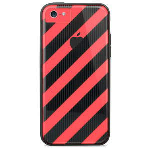 X-Doria Scene Plus Case for iPhone 5C - Stripes