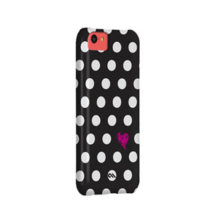 Case-Mate Barely There Prints Case for iPhone 5C - Polka Love