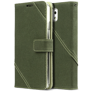 Zenus Masstige Cambridge Diary Case for Samsung Galaxy Note 3 - Khaki