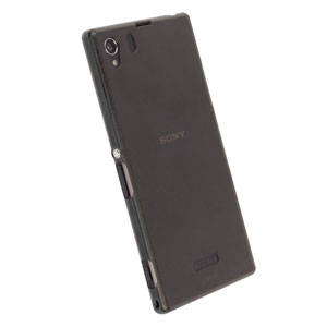 Krusell FrostCover Case for Sony Xperia Z1 - Transparent Black
