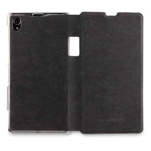 Roxfit Nero Book Flip Case for Sony Xperia Z1 - Black