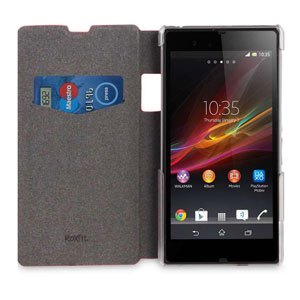 Roxfit Book Flip Case for Sony Xperia Z1 - Monza Red
