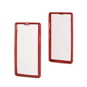 Roxfit Gel Shell Case for Sony Xperia Z1 - Monza Red
