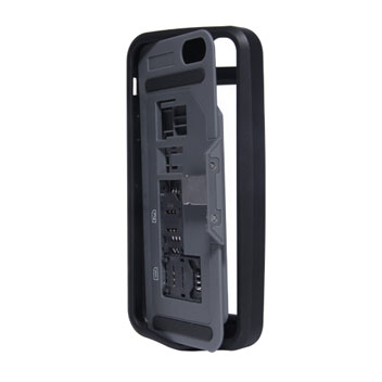 thumbsUp! Dual SIM Case for iPhone 5S / 5 - Black