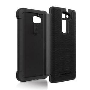 Ballistic Shell Gel Case for Samsung Galaxy S2 - Black