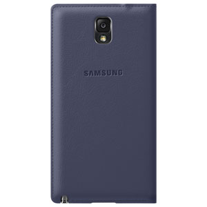 Official Samsung Galaxy Note 3 Flip Cover - Indigo Blue