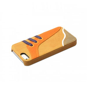 Zenus Masstige Sneakers Bar Case for iPhone 5C - Camel