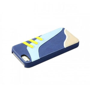 Zenus Masstige Sneakers Bar Case for iPhone 5S / 5 - Blue