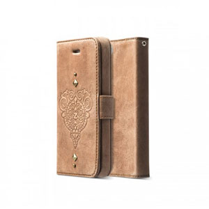 Zenus Prestige Retro Vintage Diary for oPhone 5S / 5 - Vintage Brown