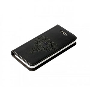 Zenus Masstige Retro Z Diary Case for iPhone 5C - Black