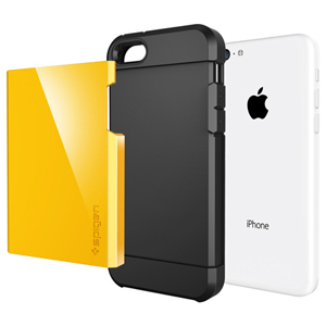 Spigen SGP Tough Armor Case for iPhone 5C - Reventon Yellow