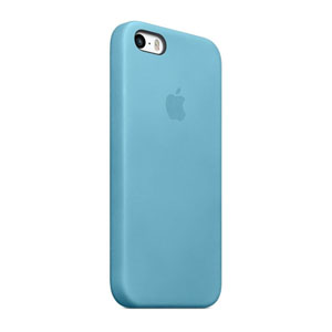 Official Apple iPhone 5S / 5 Leather Case - Blue