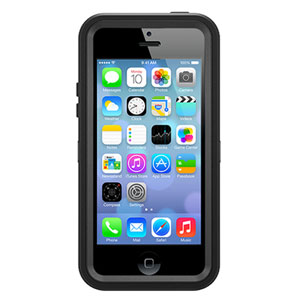 OtterBox Defender Series for iPhone 5 - Black