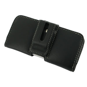 PDair Leather Case for iPhone 5C  - Black