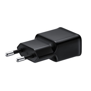 Official Samsung Note 3 EU Travel Adapter with USB 3.0 Cable - Black