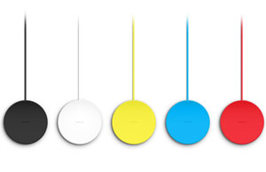 Nokia Wireless Charging Plate - Yellow