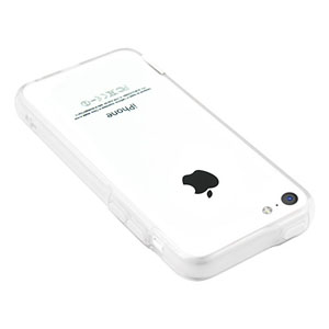 Pinlo Bladedge Bumper Case for iPhone 5C - White Clear